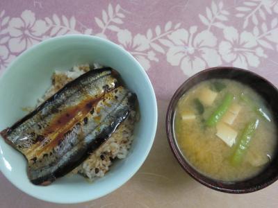 さんま丼3