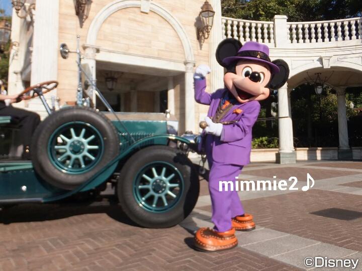 フォリーズ☆車とミッキー、そしてミニーちゃん♪