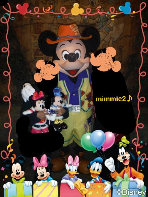 ミッキー&ミニー☆お誕生日おめでとう!