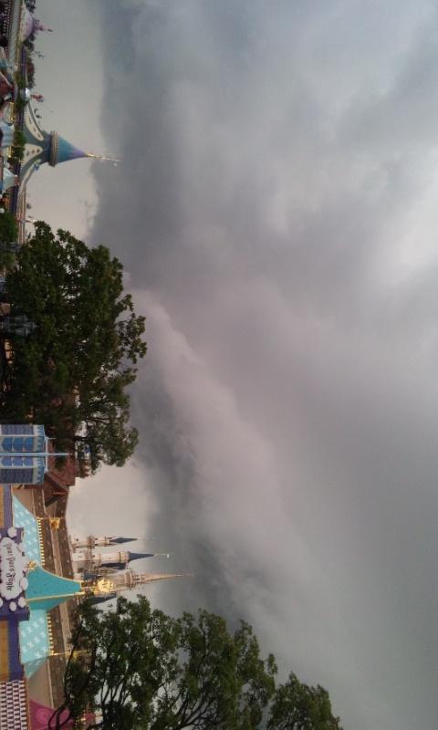 今日のランドで撮った雲。。。