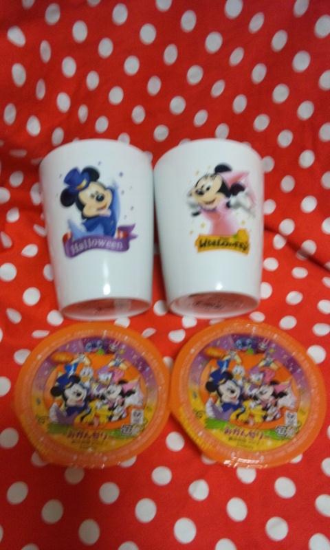 ディズニーカップ みかんゼリー