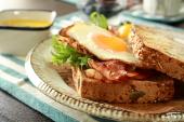 アンデルセン・ヒュッゲ朝食セットで・・・。