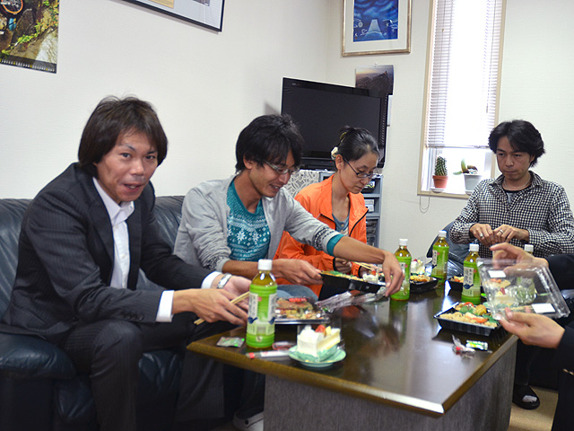 10月の昼食会