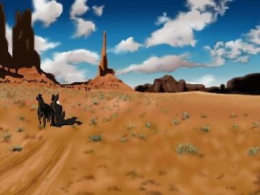 映画「西部開拓史」観ました