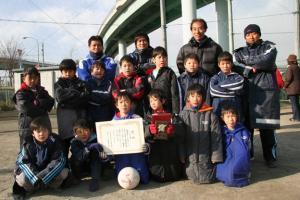 2005年度SL青葉区冬季サッカー大会+コーチ