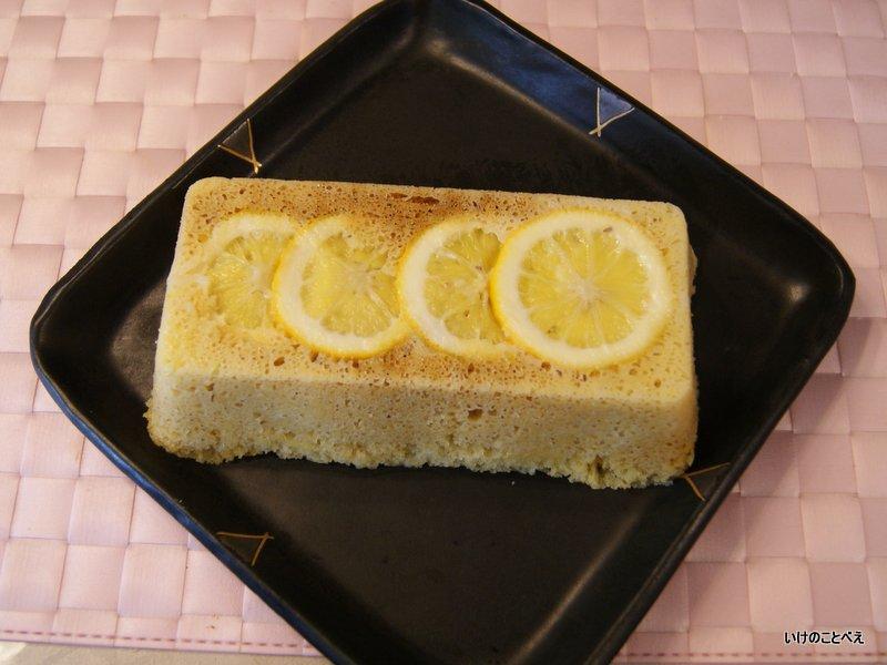 レモン&チーズ蒸しパン