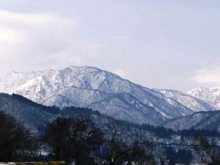 白川郷冬景色6