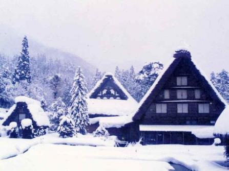 白川郷冬景色7