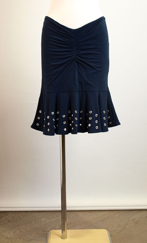 コユキのカットソー素材のスカート