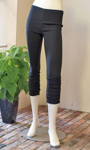Miki MIALY・ミキミアリーの裾シャーリングの7分レギンス