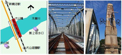 犬山橋マップ