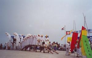 52珍島の海割れ祭