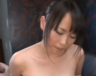 吉永あかね ローションを使ったエロい巨乳パイズリ