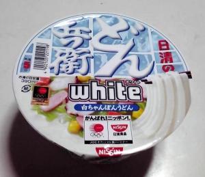 どん兵衛 WHITE 白ちゃんぽんうどん