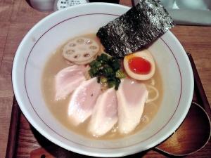 麺と心 7 W白湯セブン(2回目)