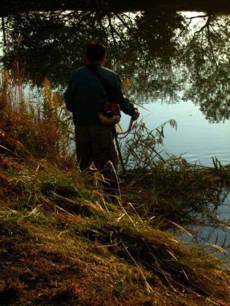 池の草刈り03