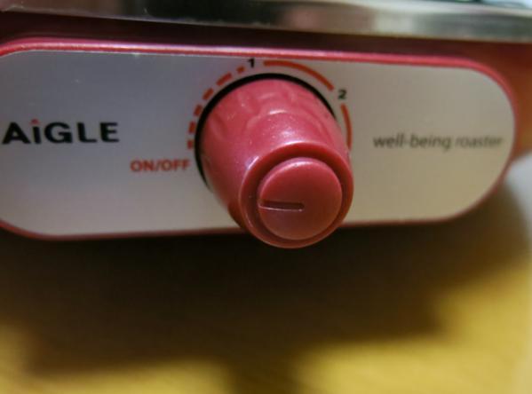 温度調節スイッチ
