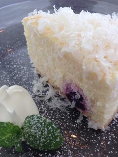 マグキッチン 羽黒ブルーベリーのレアベイクドチーズケーキ