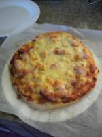 初めての自家製ピザ!
