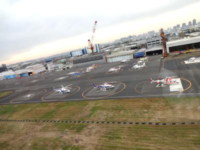 空から東京見物