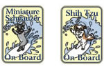 On board sticker