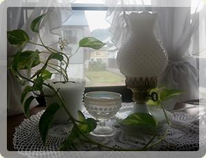 アンティーク・テーブルランプ_1