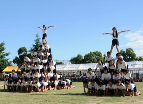 ピラミッド関西組み体操
