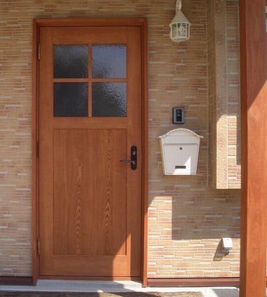オリジナル玄関戸