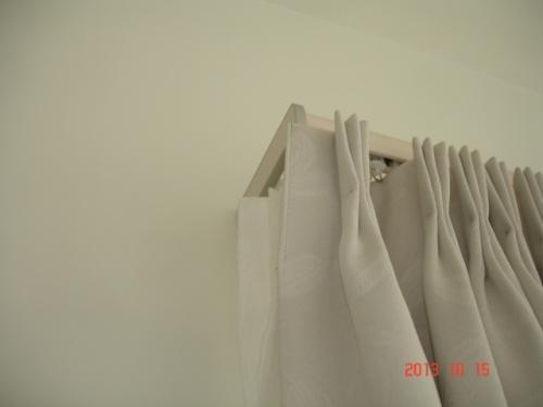 タチカワブラインド ファンティア サイドカバーW(木目)ホワイト色