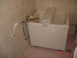 浴槽交換取付、サーモスタット混合栓交換取付