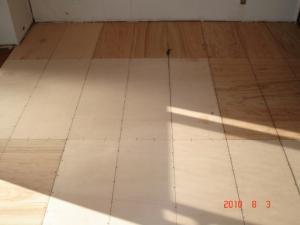 畳からクッションフロア(CFシート)へ2