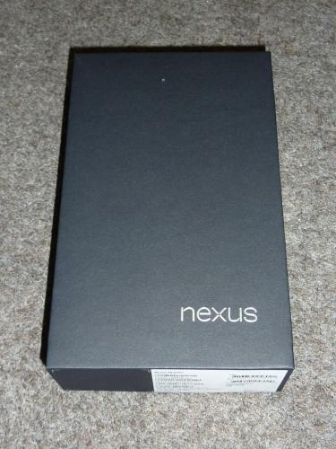 Nexus 7の内箱