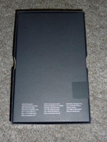 Nexus 7の内箱裏側