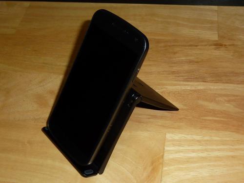 ポケモンタイピングDS スタンド写真(Galaxy Nexusを設置)
