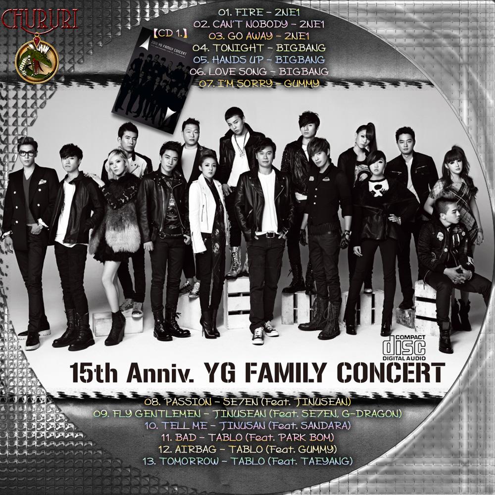 カッチカジャ☆韓国Drama・OST♪Label☆ YG Family 15th Anniversary 2011 ...