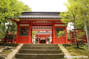 金沢神社(石川県金沢市兼六町)4