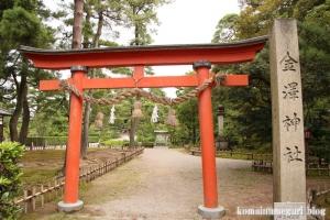 金沢神社(石川県金沢市兼六町)23