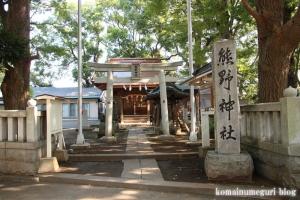 北加瀬熊野神社(川崎市幸区北加瀬)1