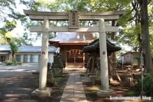 北加瀬熊野神社(川崎市幸区北加瀬)4