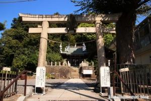 諏訪神社(横浜市港北区蓑輪町)2