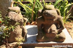 諏訪神社(横浜市港北区蓑輪町)10