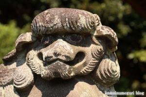 諏訪神社(横浜市港北区蓑輪町)23