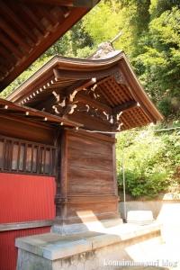 諏訪神社(横浜市港北区蓑輪町)8