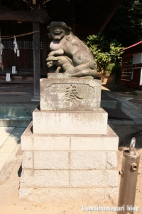 諏訪神社(横浜市港北区蓑輪町)12