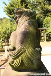 諏訪神社(横浜市港北区蓑輪町)15