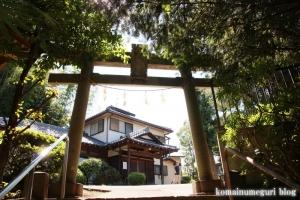 駒林神社(横浜市港北区日吉本町)2