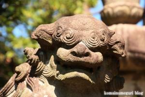 駒林神社(横浜市港北区日吉本町)25