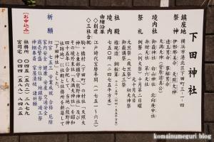 下田神社(横浜市港北区下田町)7