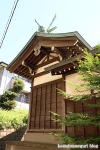 下田神社(横浜市港北区下田町)13
