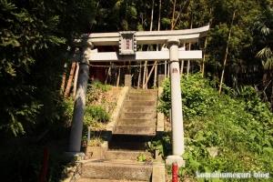 白坂神社(横浜市港北区高田東)2
